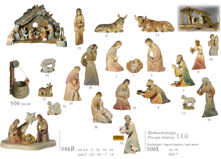 Neuheiten – Leo Moroder - Holzschnitzereien